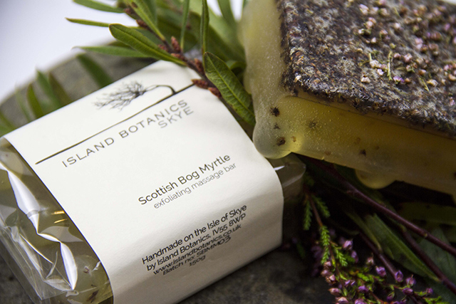Isle of Skye Bog Myrtle Scrubby Soap Bar